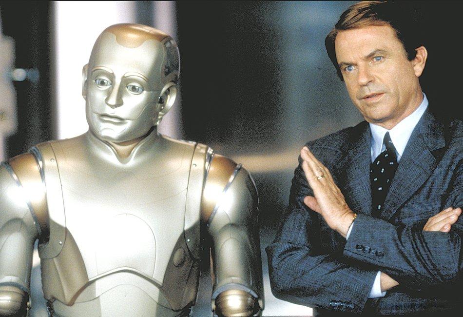 """Robin Williams als Roboter in """"Der 200 Jahre Mann"""""""