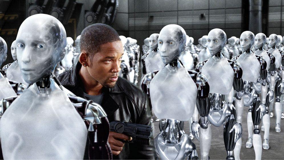 Foto von Will Smith aus dem Film I, Robot