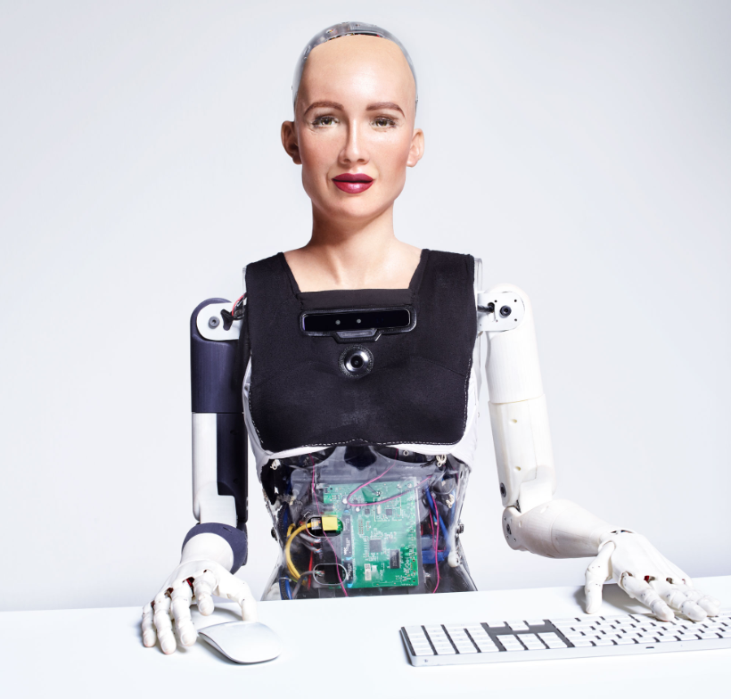 Robot Sophia from Hanson Robotics